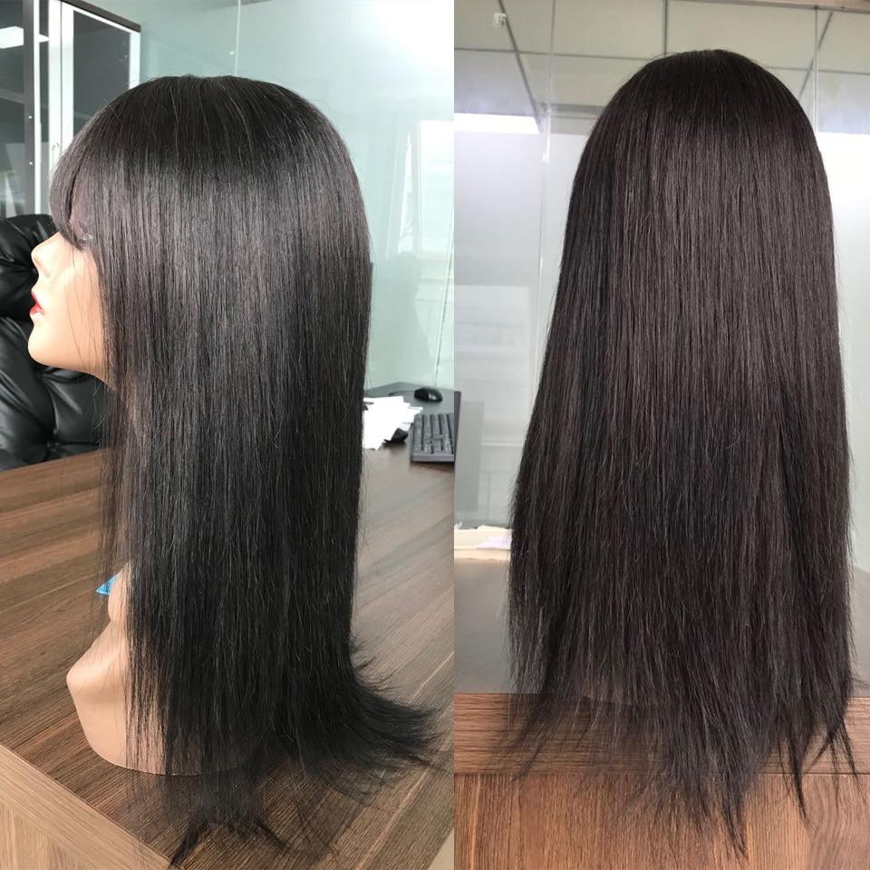 franja remy máquina completa feita perucas do