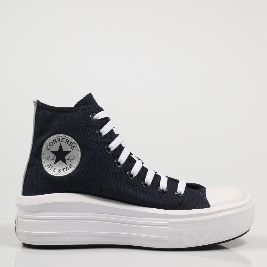 CONVERSE ZAPATILLAS CTAS MOVE NAVY 570261C Azul Marino Lona Dark Blue Canvas Mujer SNEAKERS Woman Shoes Casual Fashion 74543