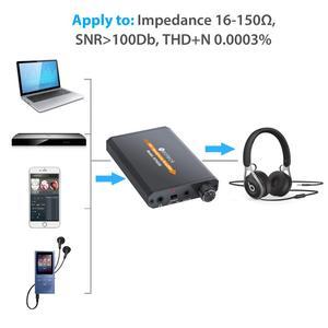 Image 3 - PROZOR المحمولة مضخم ضوت سماعات الأذن HiFi سماعة مضخم الصوت USB Rechargeble 3.5 مللي متر ل AUX المدخلات إخراج سماعة رأس صغيرة أمبير