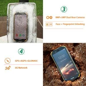 Image 4 - IP68 DOOGEE S40 Lite 5.5 inç ekran 2GB 16GB Android 9.0 sağlam cep telefonu 4650mAh 8.0MP kamera akıllı telefon
