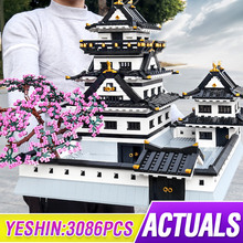 Toys Bricks-Set Building-Block Castle Mould King Architecture Japanese Adult Creative