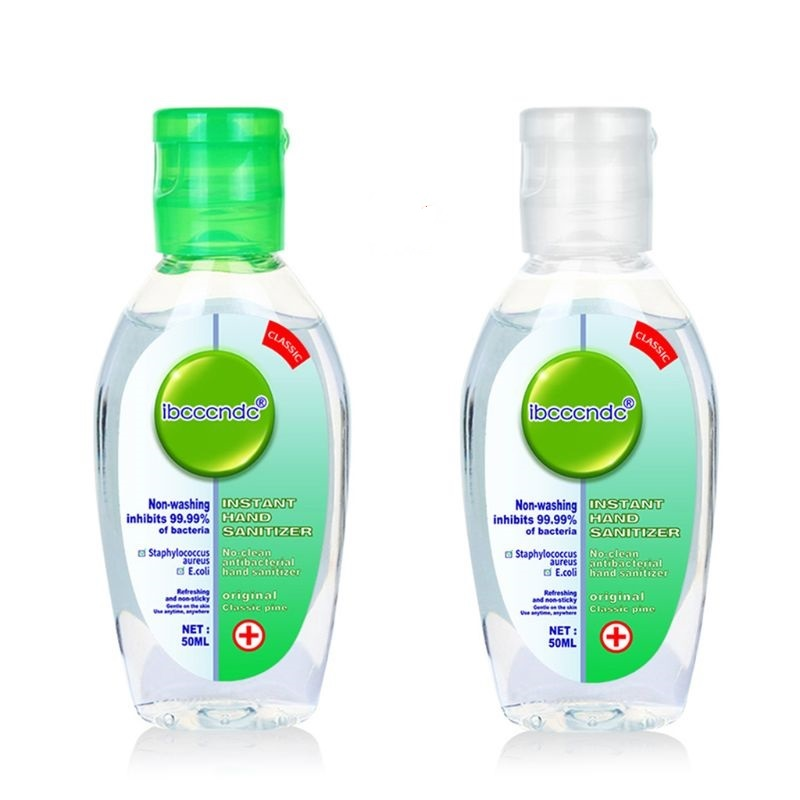 50ml Outdoor Cleansing Fluid Travel Portable Mini Hand Sanitizer Disposable No Clean Waterless Scented Gel Leak Proof
