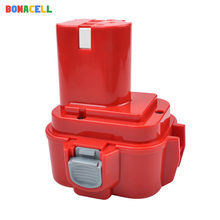 Bonacell 1 PCs 2500mAh 9.6V Ni-Mh Voor Makita PA09 9120 9122 6207D 192595-8,192596-6 Oplaadbare power Tool Batterij(China)