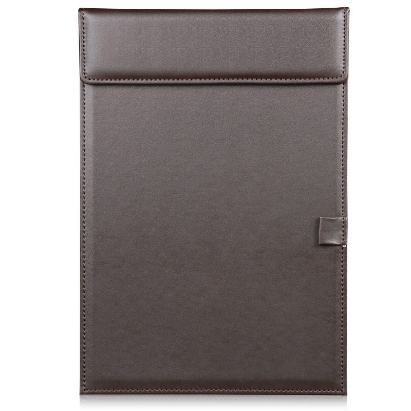 A4 PU Leather Clipboard, Conference Pad, Padfolio Clipboard Folder,Ultra-SmoothOffice Business  Writing Pad File Organizer