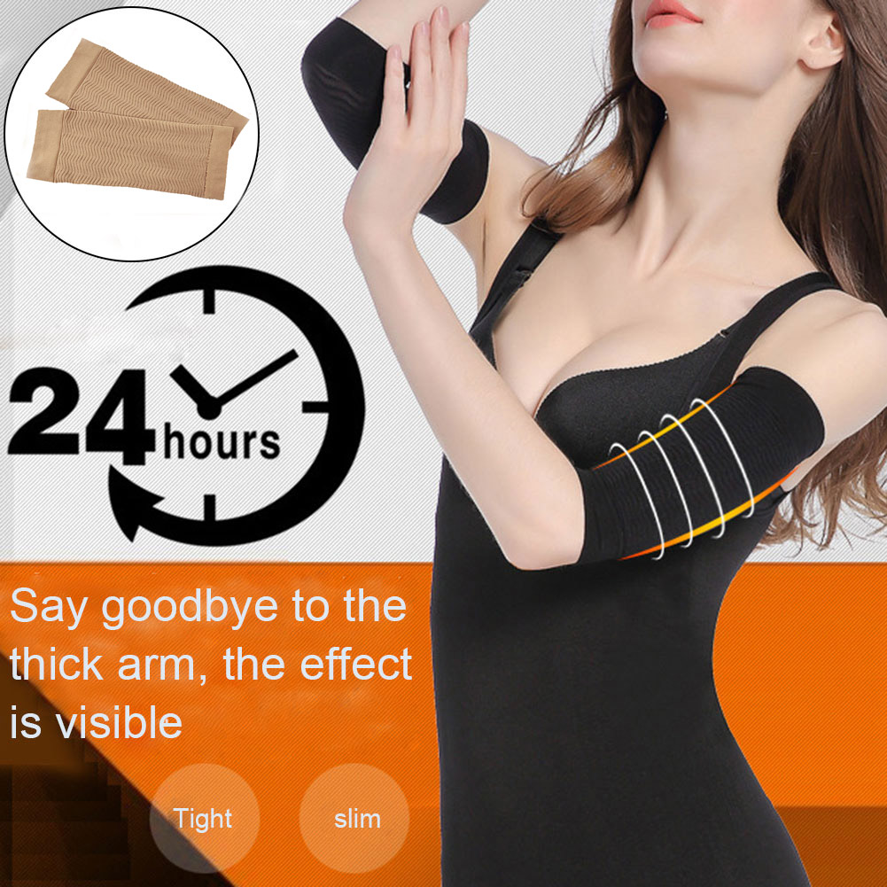 Compression Slim Arms Sleeve Shaping Arm Shaper Upper Arm Supports Women MUG88
