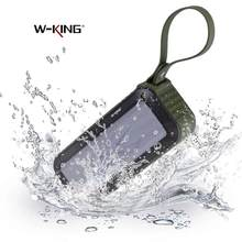 W-king S20 IPX6 Waterproof Bluetooth Speaker Portable Wireless Speaker for Shower Bathroom Outdoor Activities Bicycle TF FM(China)