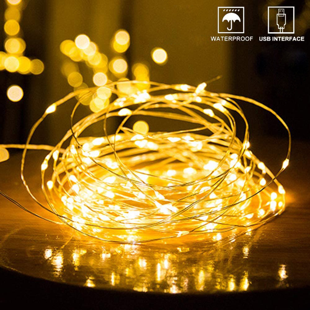 1/2/3/5/10M Copper Wire LED String Lights Photo Clip Christmas Garland Holiday Fairy Light For New Year Wedding Party Decoration