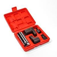 Car Oxygen Sensor Socket Thread Chaser Install Offset Wrench Vacuum M12 M18 Car Repair Tool Kit Accessories