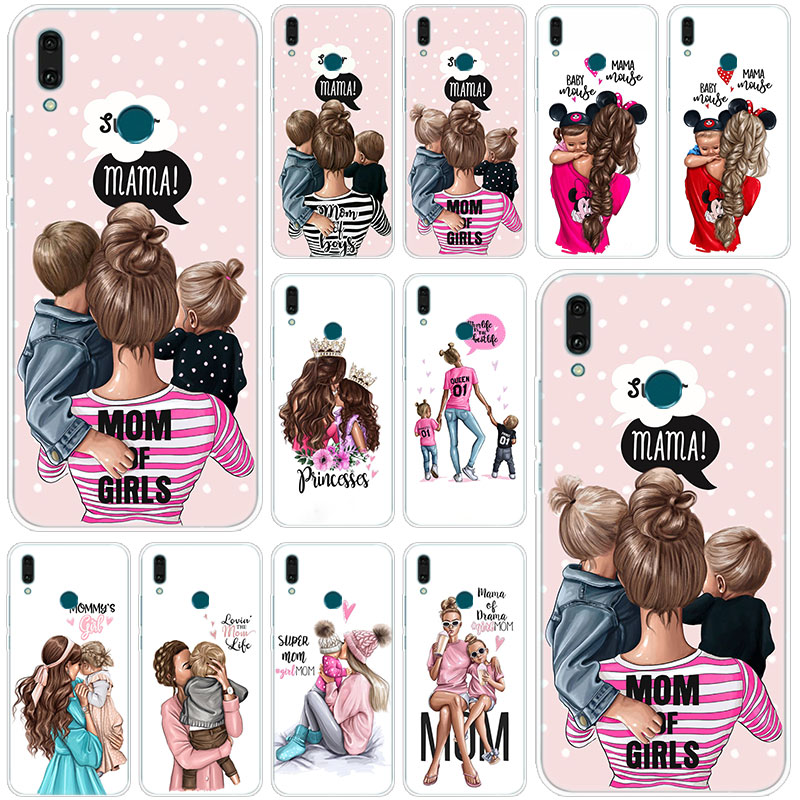 Soft Silicone Case for Huawei P20 P30 P Smart Lite Pro Plus Y6 Y7 Y9 2017 2018 2019 Prime Adidas Pattern