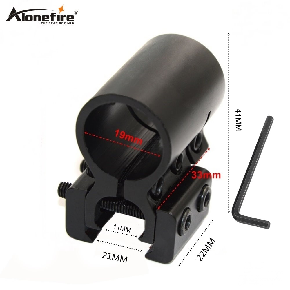 Alonefire M-23 19mm Ring 11 To 21mm Rail Dovetail Base Weaver Picatinny Airsoft Rifle Shot Gun Lights Laser Sight Scope Mounts