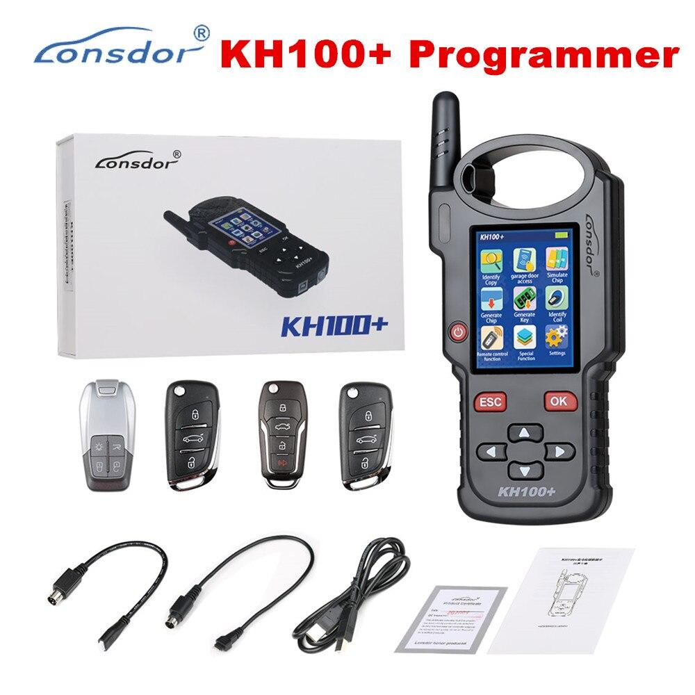 Программатор дистанционного ключа LONSDOR KH100 +, новейшее портативное устройство, обновленная версия KH100