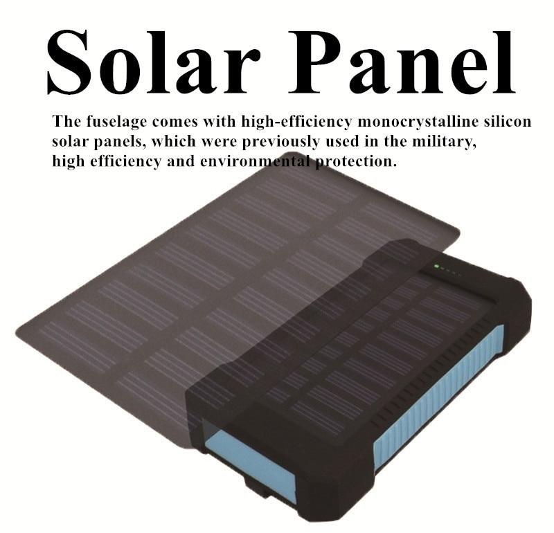 Solor Power Bank 30000 мАч Внешний аккумулятор мобильный внешний аккумулятор портативное быстрое зарядное устройство цифровой дисплей для всех смар...