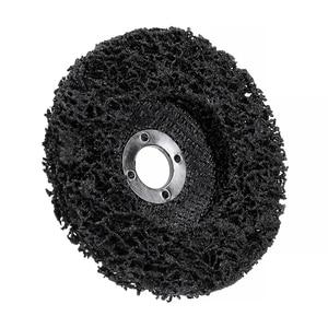 Image 5 - 5 adet poli şerit diskli tekerlek araba boyası pas temizleme Clean açı öğütücü aşındırıcı diski 100*16mm açı öğütücüler için