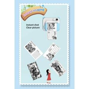Image 5 - RISE DIY Digital Instant Print Camera Full Color Prints Kind Camera Voor Kinderen Baby Geschenken Roze