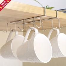 Rack Shelf Dish-Hanger Tableware-Holder Hanging-Hook Bathroom-Organizer Cupboard Kitchen-Storage