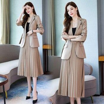 Ladies Fashion Formal Skirt-Suits