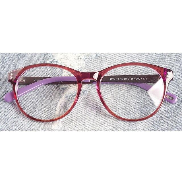 ผู้หญิงกรอบแว่นตาวัยรุ่น acetate เยอรมนีคุณภาพสูง