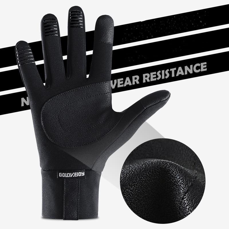 Зимние перчатки для спорта на открытом воздухе мужские теплые