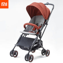 Xiaomi youpin High Landscape Stroller Two-way Can Sit Reclining Ultra-light Portable Folding Shock Four-wheeled Baby Trolley(China)