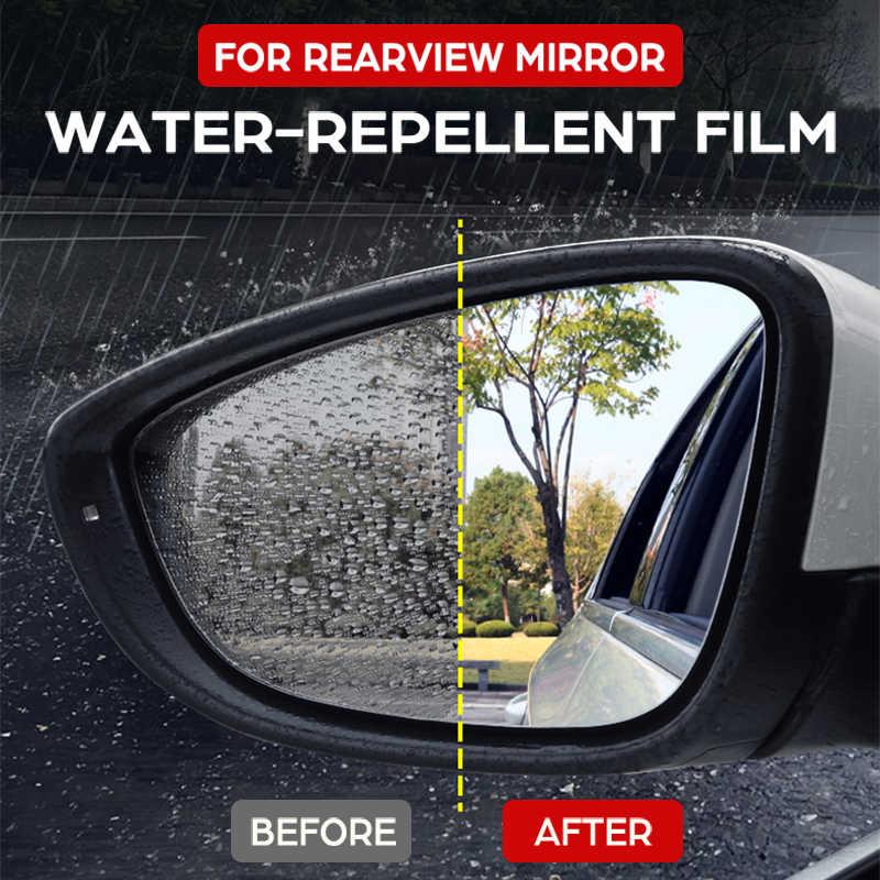 Pełna pokrywa Anti Fog Film przeciwdeszczowe lusterko wsteczne dla Volkswagen VW Touran 2003 ~ 2020 oryginalne folie ochronne samochodowe akcesoria