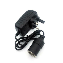 цена на Car Cigarette Lighter 240V Mains Plug to 12V Socket Adapter Converter AC/DC