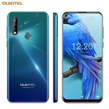 OUKITEL C17 6.35'' Mobile Phone Android 9.0 4G Smartphone Octa Core 3GB 16GB Cellphone 3900mAh Triple Camera MT6763 Face ID OTG