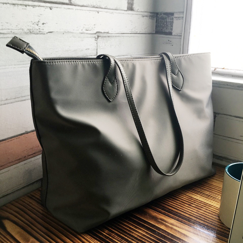 Bag Female Large Bag 2020 New Style Commuting Canvas Bag Nylon Dumplings WOMEN'S Bag Hand Mass Toth Bags(China)
