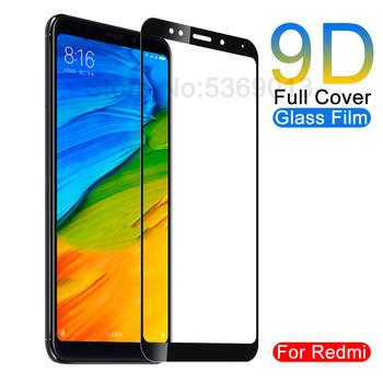 Перейти на Алиэкспресс и купить 9D Премиум Закаленное стекло для Xiaomi Redmi 5 Plus 5A 4 4X 4A S2 Go K20 Redmi Note 5 5A Pro защитная пленка HD