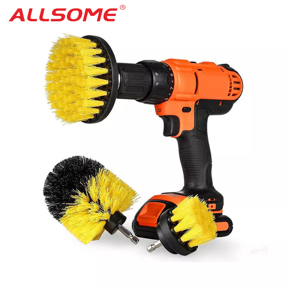 Drill Scrubber Brush Kit™