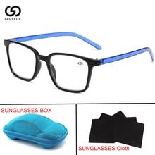 Trendy  Reading Glasses Women Men Lightweight Presbyopic 1.0 1.5 2.0 2.5 3.0 3.5 4.0 Presbyopia Eyewear with box