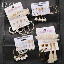 17KM New Vintage Jewelry Set For Women Girl Bohemian Hair Cl