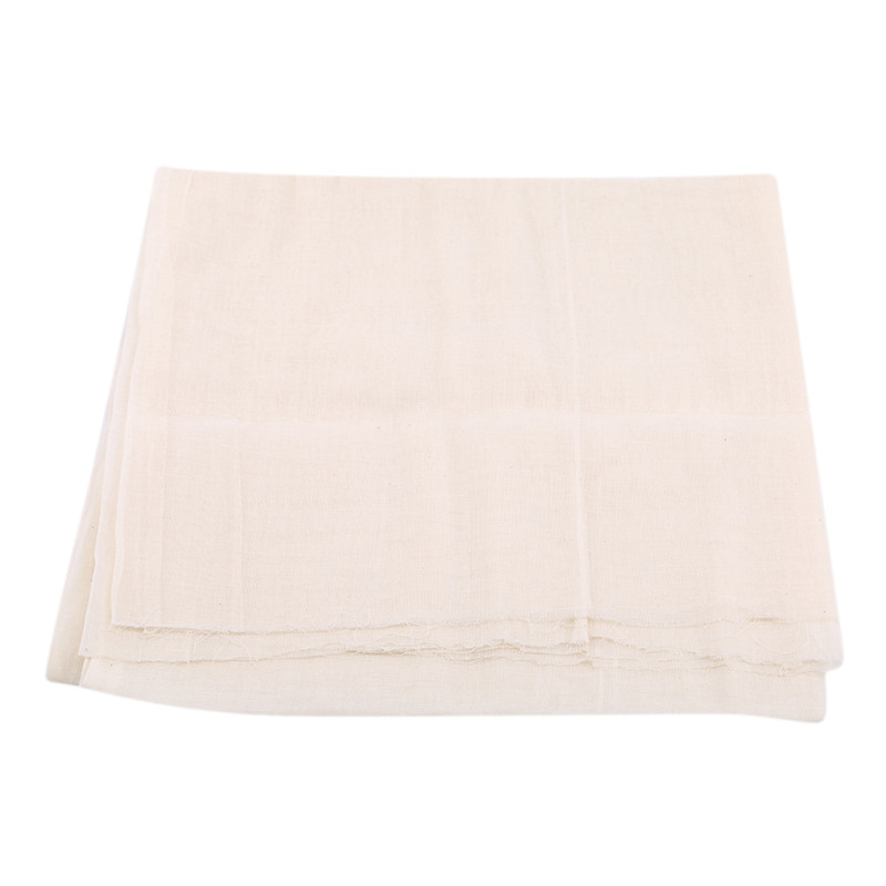 Cheesecloth Filter Cotton Cloth Cheesecloth Gauze Natural Breathable Bean Bread Cloth Fabric Kitchen Accessories