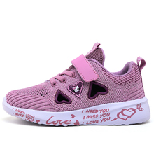 2020 New Autumn Kids Shoes Breathable Boys Girls Sport Shoes Children Casual Sneakers Baby Running Shoes Mesh Canvas Shoes B019