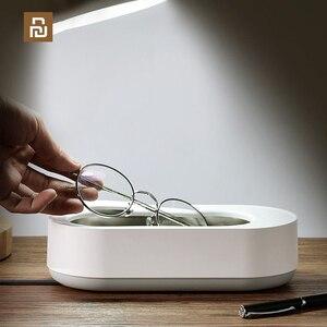 Image 1 - Xiaomi EraClean contrôle intelligent nettoyeur à ultrasons 45000Hz haute fréquence Vibration bijoux lunettes nettoyant Machine de nettoyage