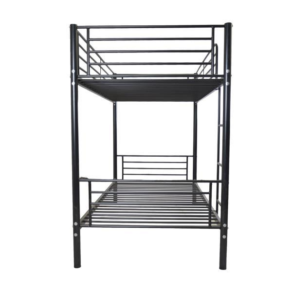 Bunk Bed Iron Frame With Ladder  3