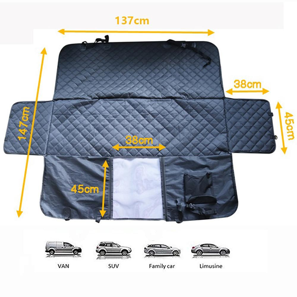 Waterproof Pet Cat Dog Car Rear Back Seat Cover Antislip Protector Mat Auto Travel Blanket Hammock Cushion Protector Car Dog Pad in Automobiles Seat Covers from Automobiles Motorcycles