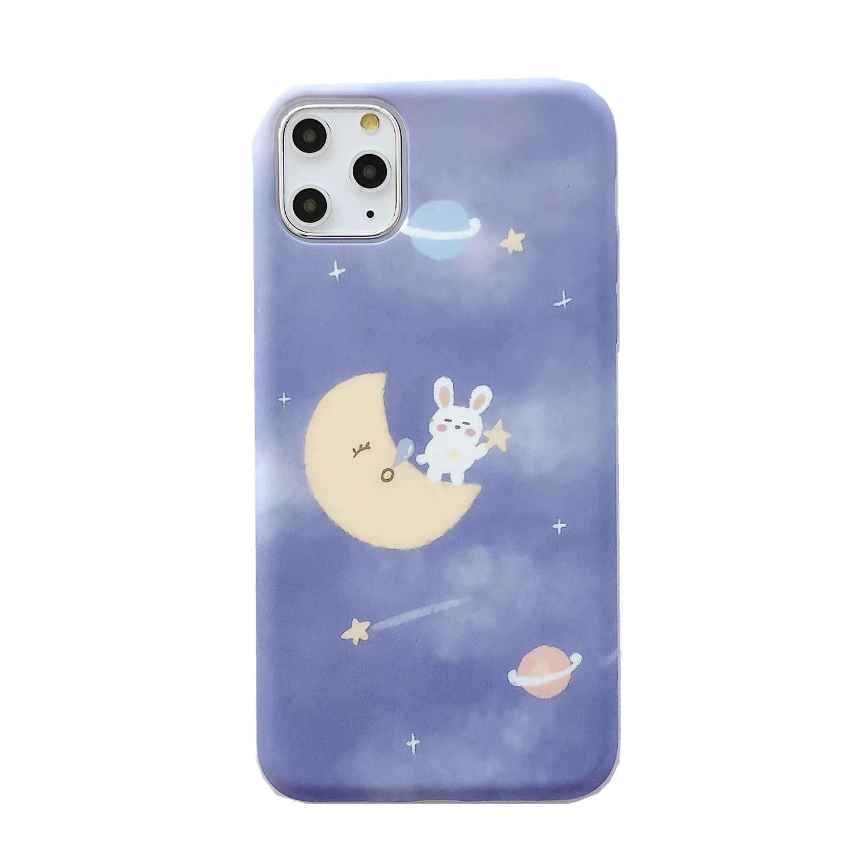 Estrella Bunny 11Pro/Max Apple X/XS/XR teléfono caso iphone 6s/8/7/de silicona establecer