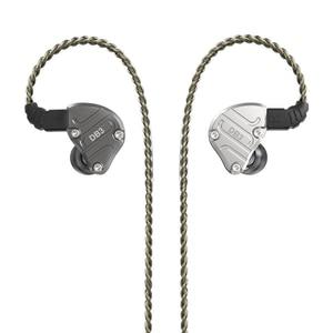 Image 5 - NICEHCK DB3 1BA+2DD Hybrid 3 Driver Units In Ear Earphone Monitor Running Sport Earphone HIFI Headset Metal DJ Earbud IEM MK3