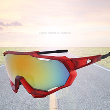 Men's Cycling Glasses Windproof Colorful Sunglasses UV blocking Sunglas
