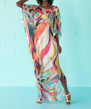 Strand Jurk Kaftan Pareo Sarongs Sexy Cover-Up Chiffon Bikini Badmode Tuniek Badpak Badpak Cover Ups Robe De plage # Q97(China)
