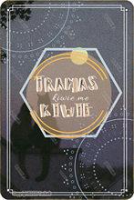 Traumas kiwie me kiwie olhar vintage 20x30 cm ferro decoração cartaz sinal para casa cozinha banheiro jardim fazenda