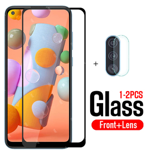 protective glass for samsung a11 screen protector tempered glas on for galaxy a 11 11a safety film samsun samsumg sansung galaxi
