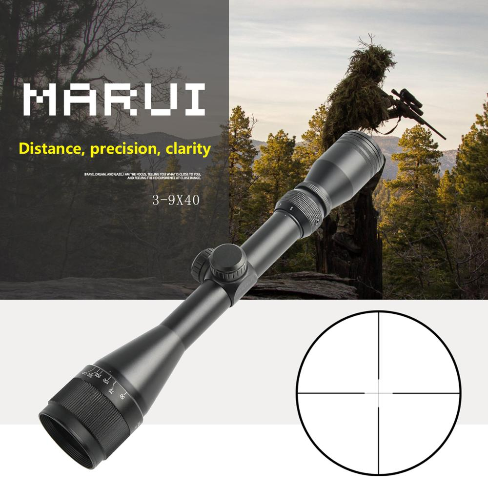Famous Brand Marui 3-9x40 Optical Sight Riflescope military use Outdoor Hunting Scope Air Rifle Sniper rifle special cope