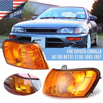 Pair Car Front Corner Lamp Lights Fit for Toyota Corolla AE100 E100 AE101 1993 1994 1995 1996 1997 Signal Lamp No wire harness image