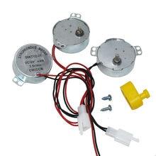 1 pces equipamento da incubadora de montagem do motor da incubadora gire o equipamento da incubadora do ovo do motor dos ovos ac 220v/110v ou dc 12v 50/60hz