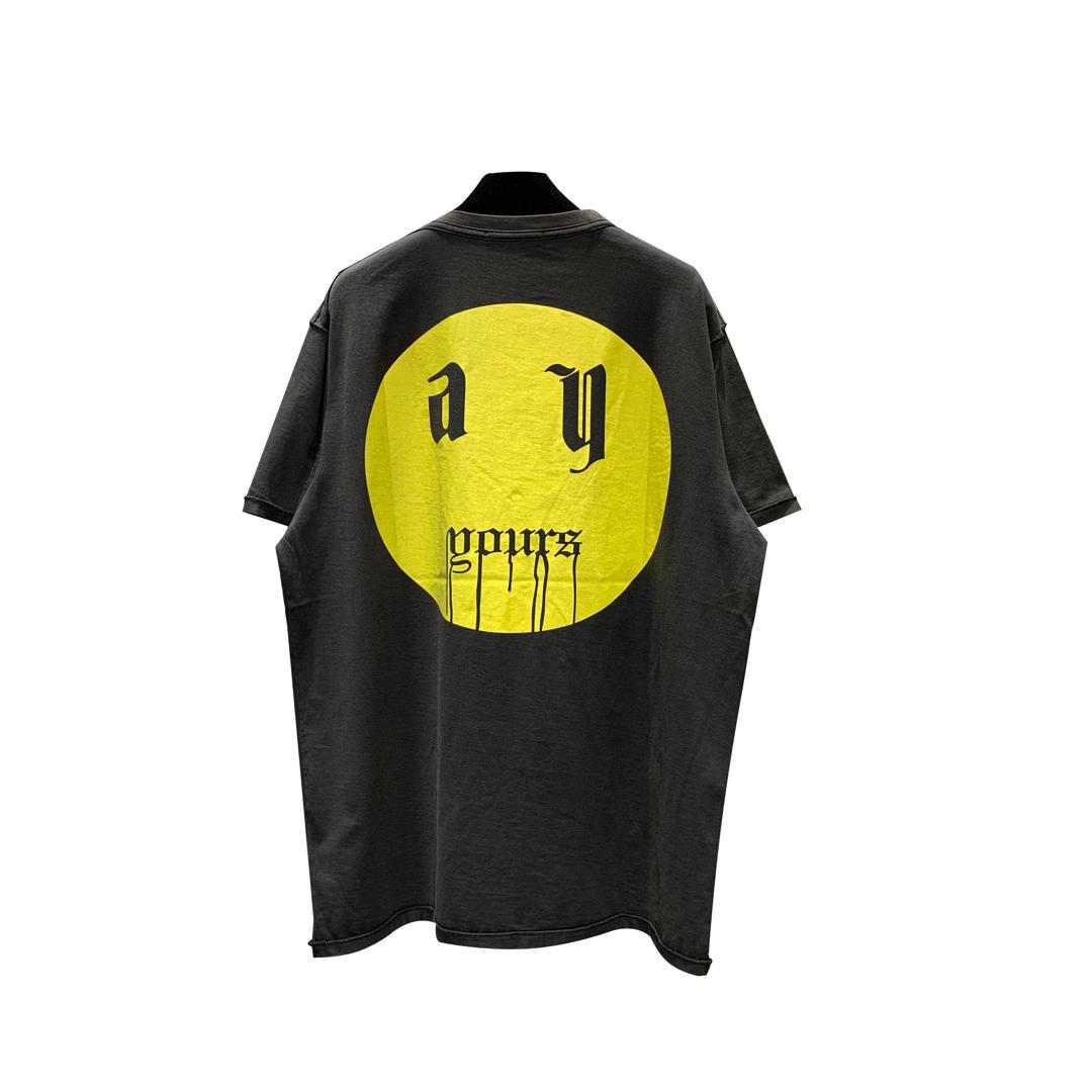ASKYURSELF T Shirt Men Women Letter Slogan Smiling Face Streetwear Xxxtentacion Hip Hop Harajuku ASKYURSELF Tee Workout Shirts in T Shirts from Men 39 s Clothing