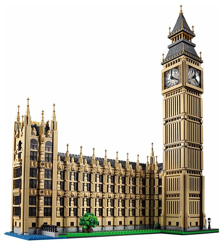 30003 créateurs série Big Ben plus connu horloge tour modèle ensembles Kits de construction blocs 4164 pièces briques compatibles avec 10253 jouets