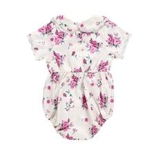 цена Baby Overalls Short sleeve overalls 100% Cotton Newborn clothes Baby clothes Boys overalls & clothes 3-12M онлайн в 2017 году