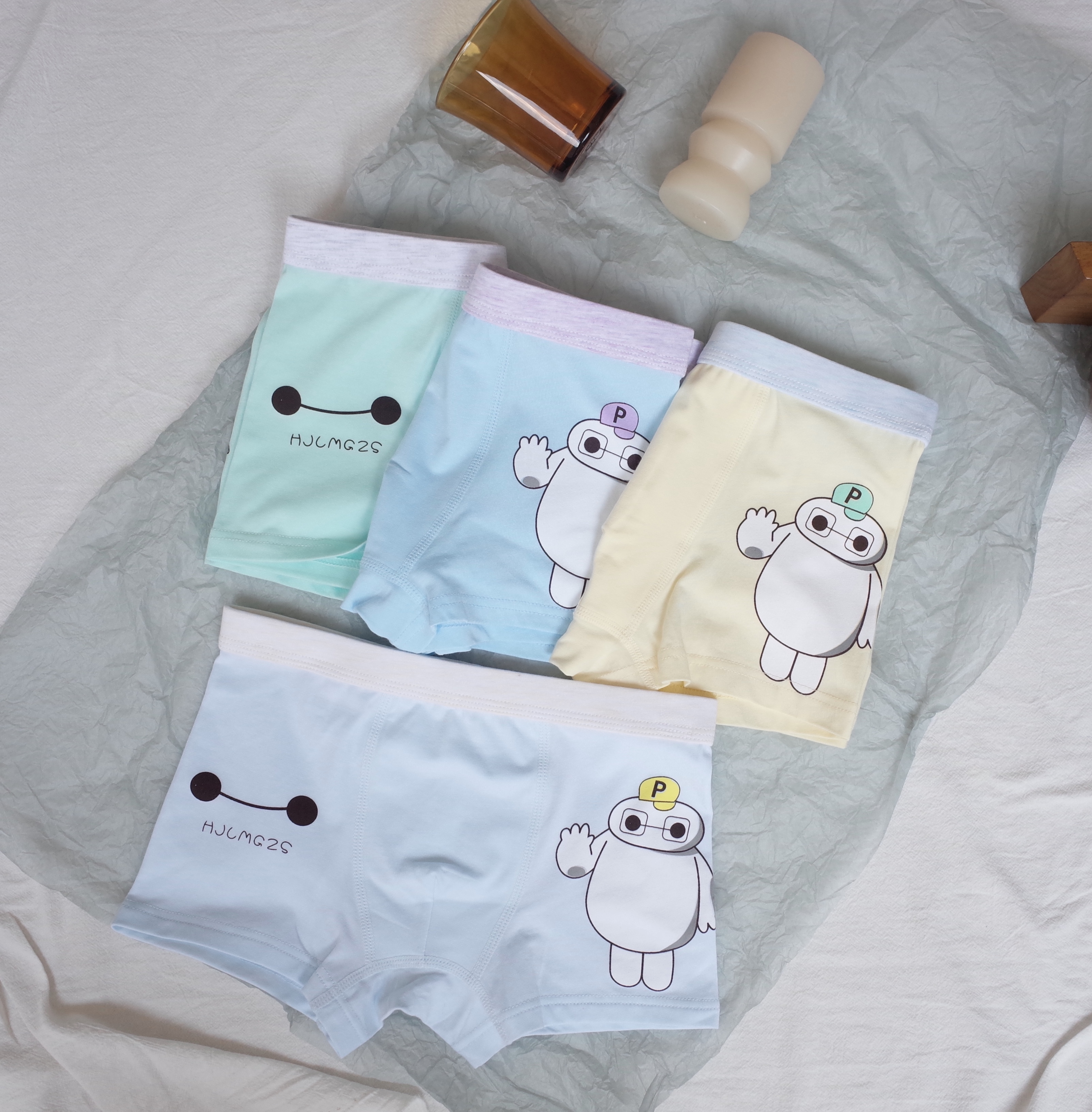 3 pcs lot of fashionable children 39 s underwear robot pattern boy 39 s underwear cotton shorts children 39 s pants ladle boy 39 s shorts