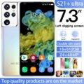Последняя версия S21 + Ультра 7,3 дюймовыйж Смартфон Android 10,0 16 Гб Оперативная память 512 ГБ Встроенная память Dual Sim разблокирован мобильный телеф...